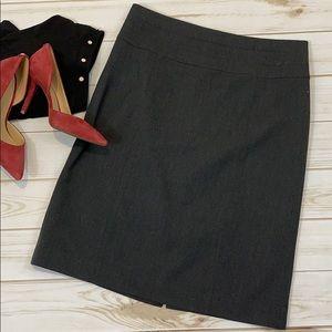 H&M Grey high waisted pencil skirt - Sz 10